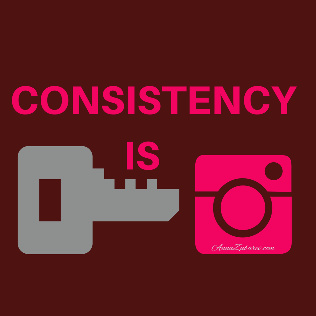 how to keep a consistent instagram