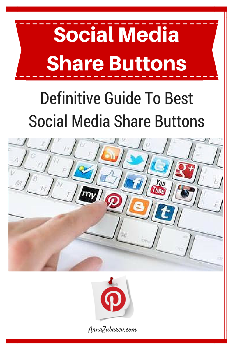 Social Media Share Buttons: Definitive Guide To Best Social Media Share Buttons. via@AnnaZubarev