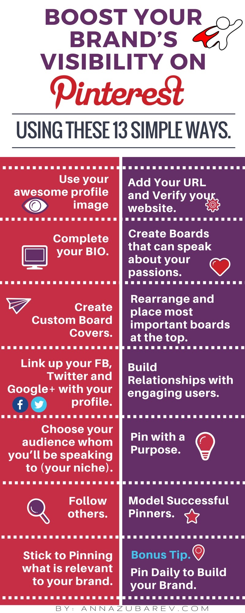 Boost Your Brand's Visibility on Pinterest Infographic. (2)