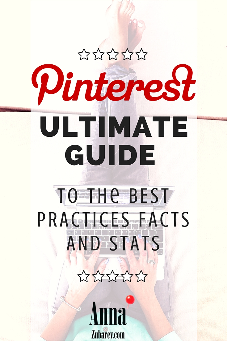 Pinterest Ultimate Guide to the Best Practices Facts and Stats. via @annazubarev #pinterestexpert