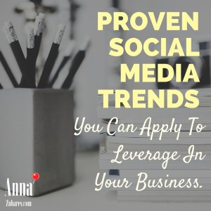 Proven Social Media Trends You Can Apply To Leverage In Your Business.